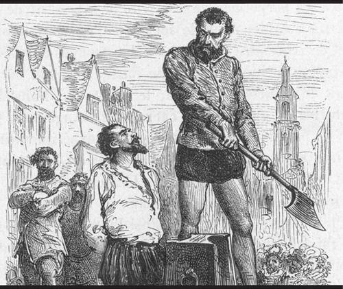 El primer banquero central fue condenado a muerte